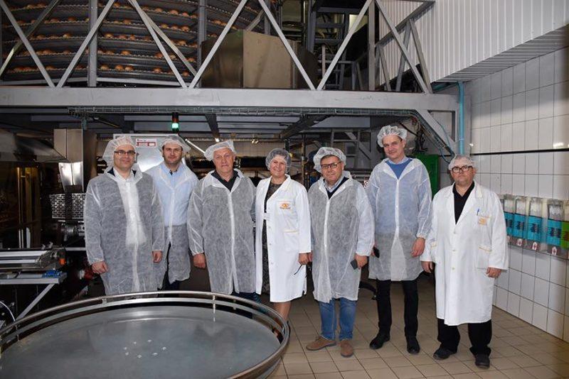Івано-Франківський хлібокомбінат вразив іноземну делегацію виробничим оснащенням (ФОТО)