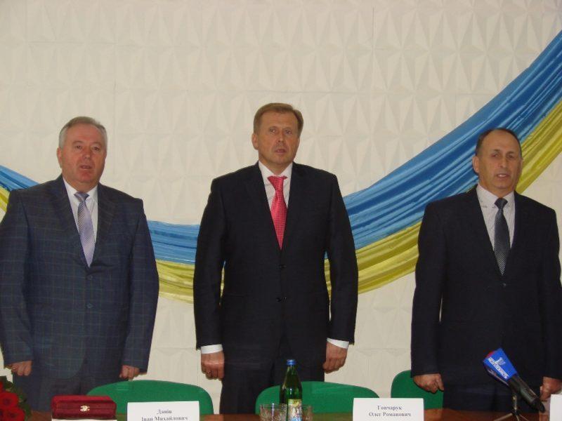 Гончарук офіційно представив громадськості Калущини нового очільника району (ФОТО)