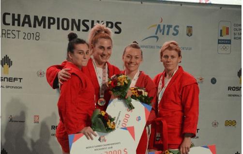 Прикарпатські спортсменки вибороли дві нагороди на чемпіонаті світу з самбо (ФОТО)