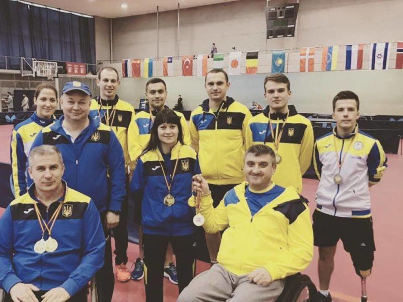 Прикарпатець виборов золото на міжнародному турнірі з настільного тенісу в Іспанії (ФОТОФАКТ)