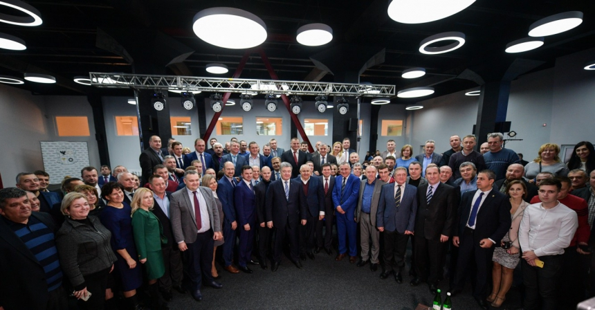 У Франківську Президент зустрівся з представниками ділових кіл (ФОТО)