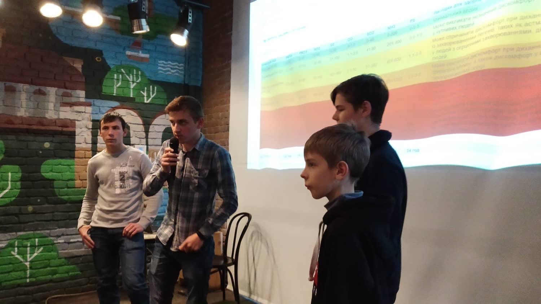 Франківські школярі створили пристрій, який аналізує якість повітря (ФОТО)