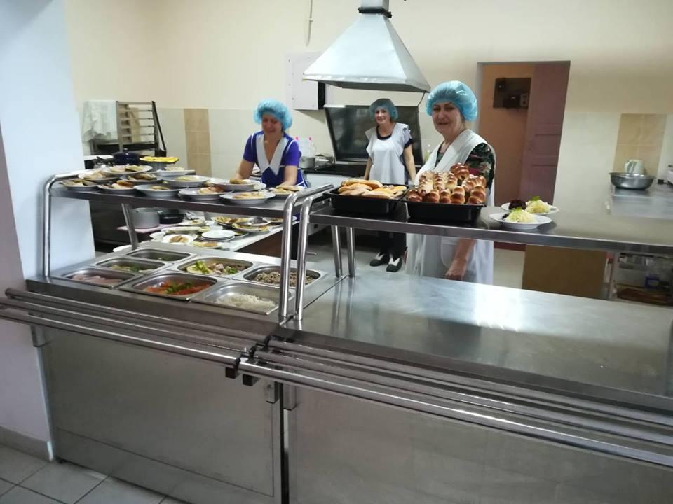 У франківській школі відремонтували харчоблок і встановили сучасне обладнання (ФОТО)