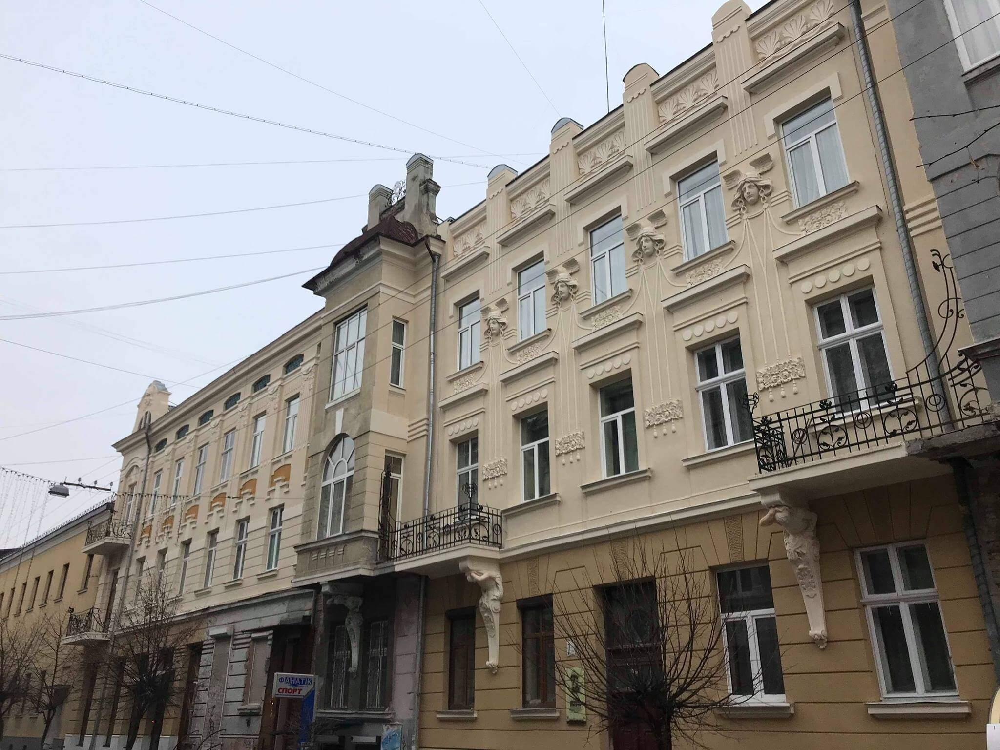 У центрі міста з'явилися ще одна відреставрована архітектурна пам'ятка (фоторепортаж)