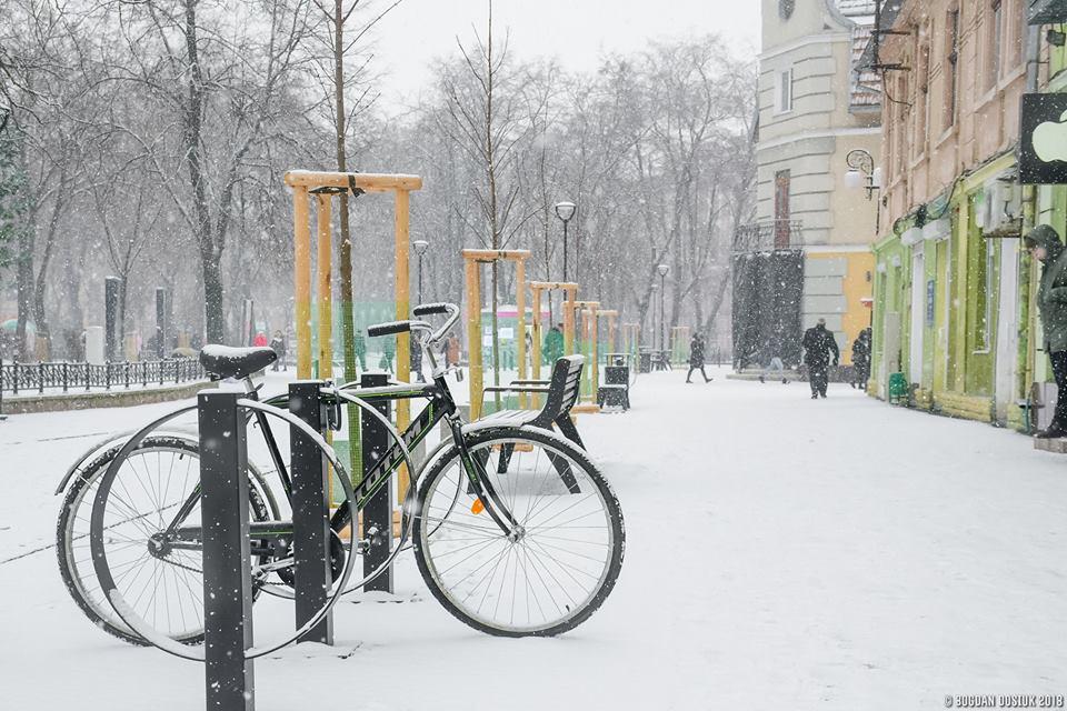 Франківські комунальники відзвітували про очищення міста від снігу