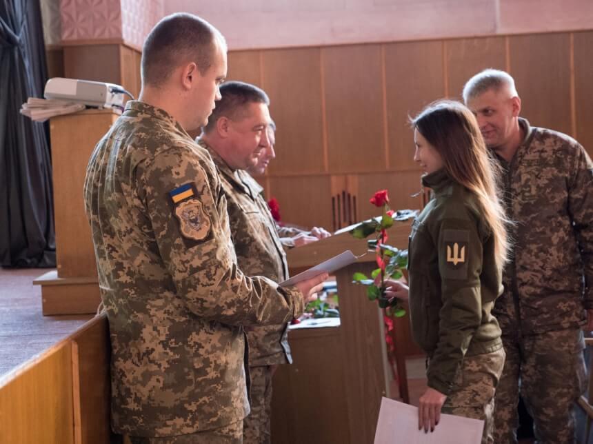 На Прикарпатті відзначили найкращих військовослужбовців (ФОТО)